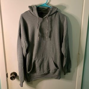 Oversized pull-over hoodie